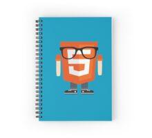 html5 Doodle Spiral Notebook