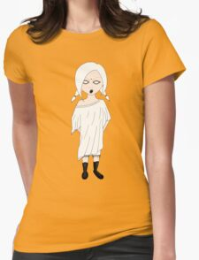 Cute & ghostly Womens Fitted T-Shirt