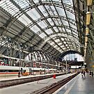 Frankfurt DB train station - HDR by Rosestone