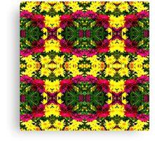 FLOWER TECHNIQUES Canvas Print