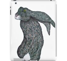 Scared Little Hare iPad Case/Skin