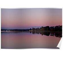 Lake Wendouree - Not Deep Purple yet give it 10 Poster