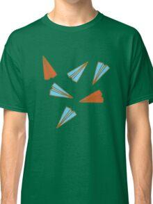 Paper Planes pattern Classic T-Shirt