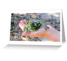 Restful Frog Greeting Card