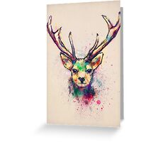 Young Stag Greeting Card