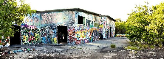 Cold War Relic - abandoned Nike Missile site by Bill Wetmore