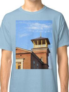 Beautiful house with a tower Classic T-Shirt