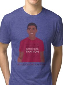 """""""Justice For Trayvon"""" Tri-blend T-Shirt"""