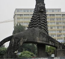 Lion of Judah, Addis Ababa, Ethiopia by Bonnie MacAllister