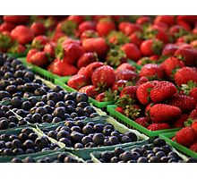 Berry Medley Photographic Print