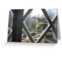 Anne Hathaway Cottage Garden Greeting Card