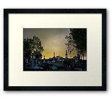 Glory on the Hill Framed Print