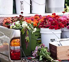 Pick Up Flower Mart by phil decocco