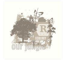 Tree Art Ecology Art Print