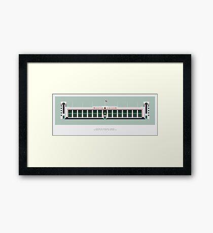 Hoover Building London Framed Print