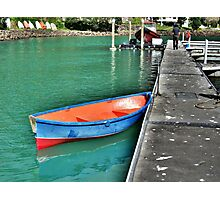 Dinghy, Whangaroa, Northland, New Zealand. Photographic Print