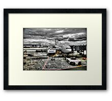 Airport  HDR Framed Print