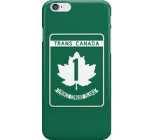 Prince Edward Island, Trans-Canada Highway Sign iPhone Case/Skin