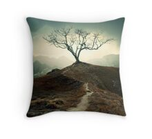 Shivery Whispers Throw Pillow