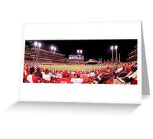 Great American Ballpark - Pana Greeting Card