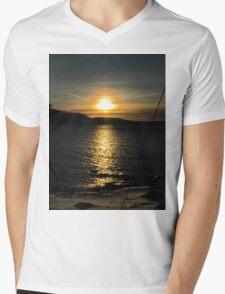 sunset a winter evening T-Shirt