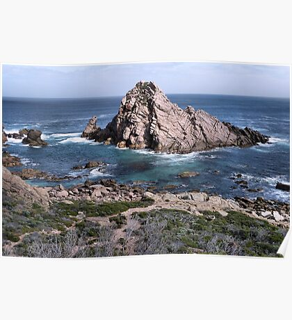 Sugarloaf Rock, West Australia Poster