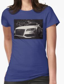 Front of an AUDI T-Shirt