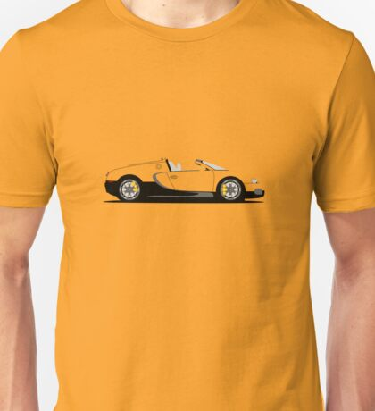 2011 Bugatti Veyron 16.4 Grand Sport Middle East Editions (Yellow) Unisex T-Shirt