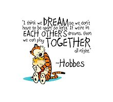 Hobbes Dream Quotes by SumoBosono