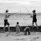 peoplescapes #339, duelling rods by stickelsimages
