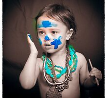 Facepaint 10 by Samantha Van Stralendorff