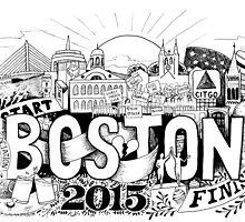 Boston Marathon 2015 by SMDS