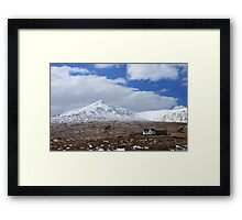 Loch Ossian Train Station Framed Print