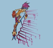 Jet Set Radio Pony:  Scootaloo by Nyarls