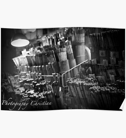 Signature Chopsticks Poster