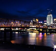 Cincinnati Skyline by HPFA