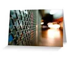 lattice@night Greeting Card