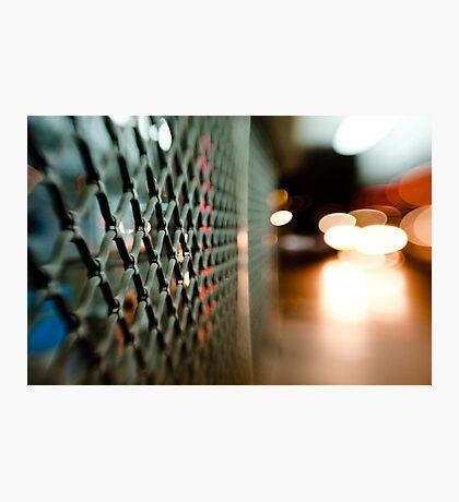 lattice@night Photographic Print