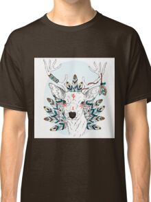 Deer with feathers Classic T-Shirt