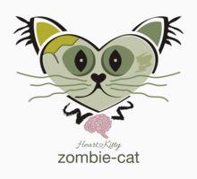 HeartKitty Zombie-Cat by LoPowDesign
