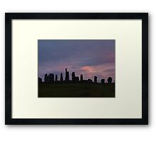 Callanai Sunset Framed Print