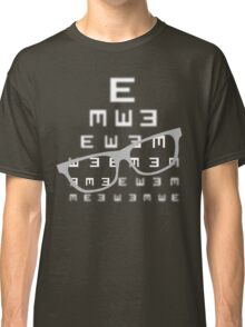 Vision screening with glasses Classic T-Shirt