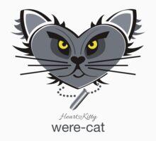 HeartKitty Were-Cat Kids Tee