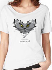 HeartKitty Were-Cat Women's Relaxed Fit T-Shirt