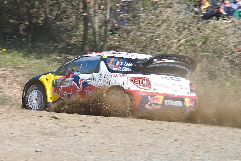 Sebastian Loeb, WRC Rally Australia 2011 by Adrian Paul