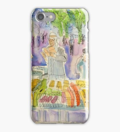 South Bank book stalls  iPhone Case/Skin