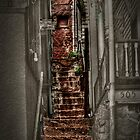 The Haunted Stairway From Past To Present by Kgphotographics