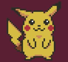 8-bit Pikachu by Harry James Grout