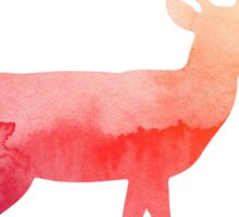 Stag antelope Sticker
