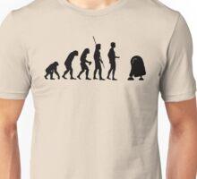 Evolution robot R2D2 Unisex T-Shirt